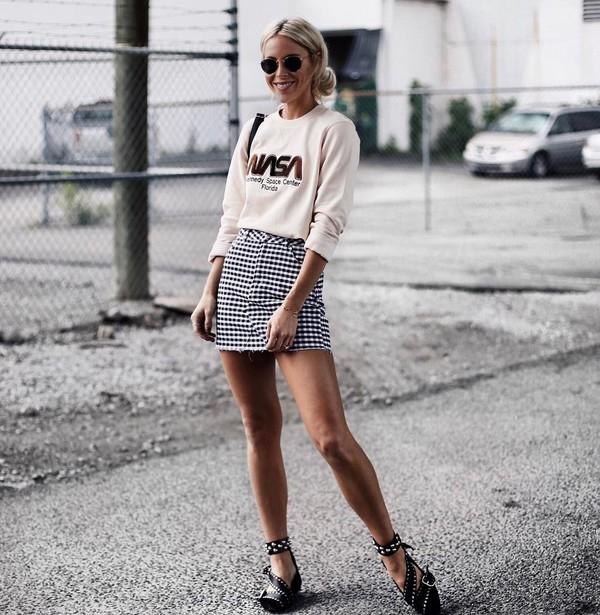 mini skirt outfits tumblr