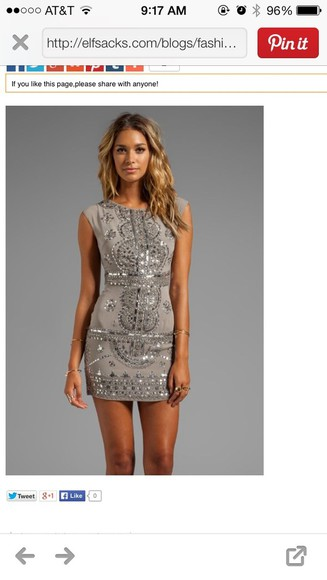 dress grey dress prom dress the great gatsby party dress short party dresses