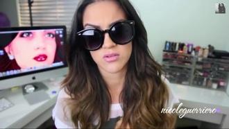 sunglasses large round youtuber ng