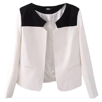 jacket white blazer formal work outfit fall outfits
