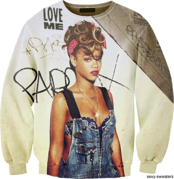 sweater rihanna
