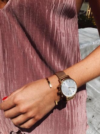 jewels tumblr gold watch watch bracelets gold bracelet accessories accessory