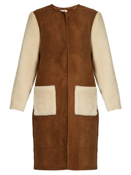 Inès & Maréchal coat brown