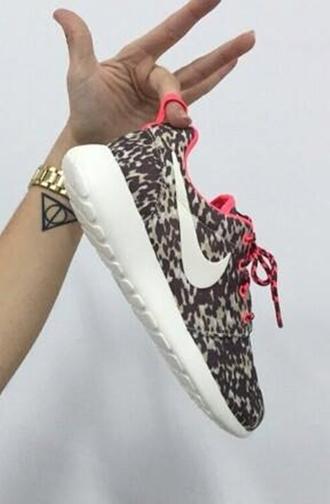 leopard print sneakers sportswear