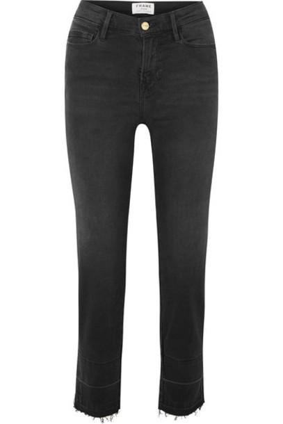 jeans high dark