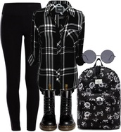 skirt,black skrit,black,hvite,look,good,love,ove,live,life,who,know,swag,cler,clear,veka,fashion,style,black top,sunglasses,cardigan