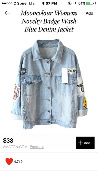 jacket jeans vintage blue jeans