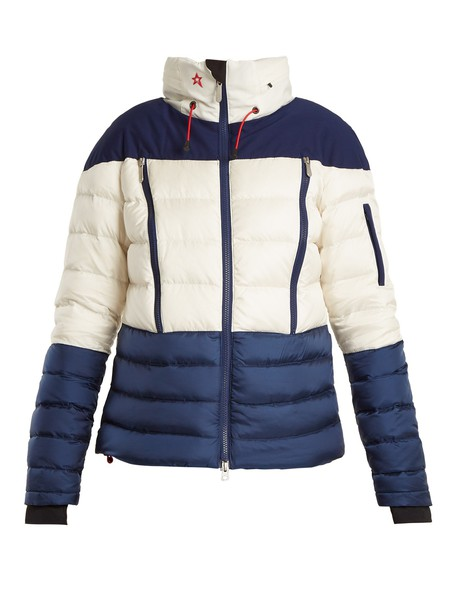 Perfect Moment jacket quilted white