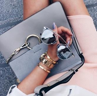 sunglasses silver sunglasses mirrored sunglasses glasses sunnies accessories accessory style stylish trendy cool lit