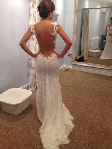 dress long dress white dress long dresses for women Open back dress
