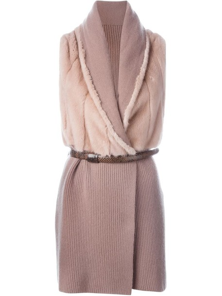 Liska vest purple pink jacket