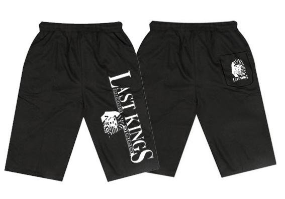 Last Kings Beach Pants Shorts Tyga Clothing Black Tyga