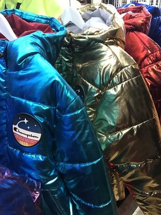 jacket champion bubble jacket streetwear