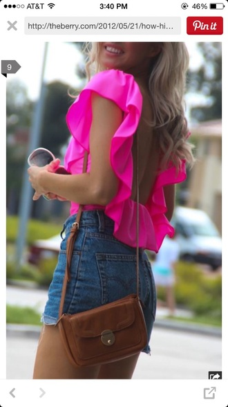 blouse shorts jeans shirt top tank top style purse