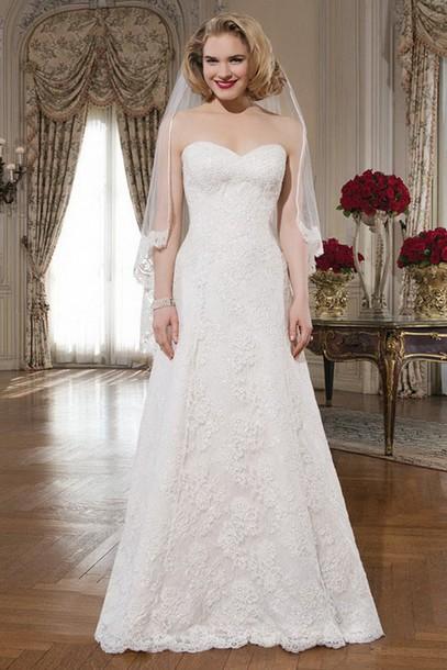 dress applique dresses bridal gown
