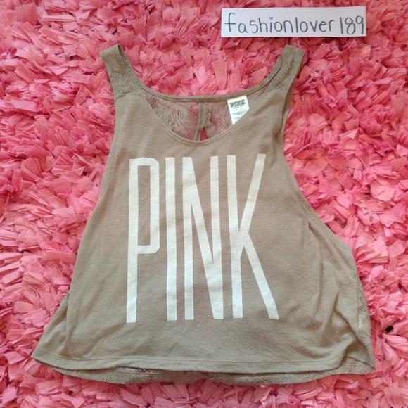67% off PINK Victoria's Secret Tops - PINK tank!