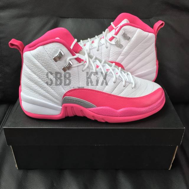 low priced 214d1 6a663 Air Jordan Retro 12 Dynamic Pink Valentine's Day