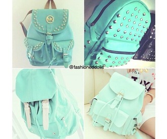 bag mint studs backpack