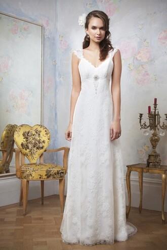 dress high-low dresses wedding dress bridal gown lace wedding dress vintage wedding dress