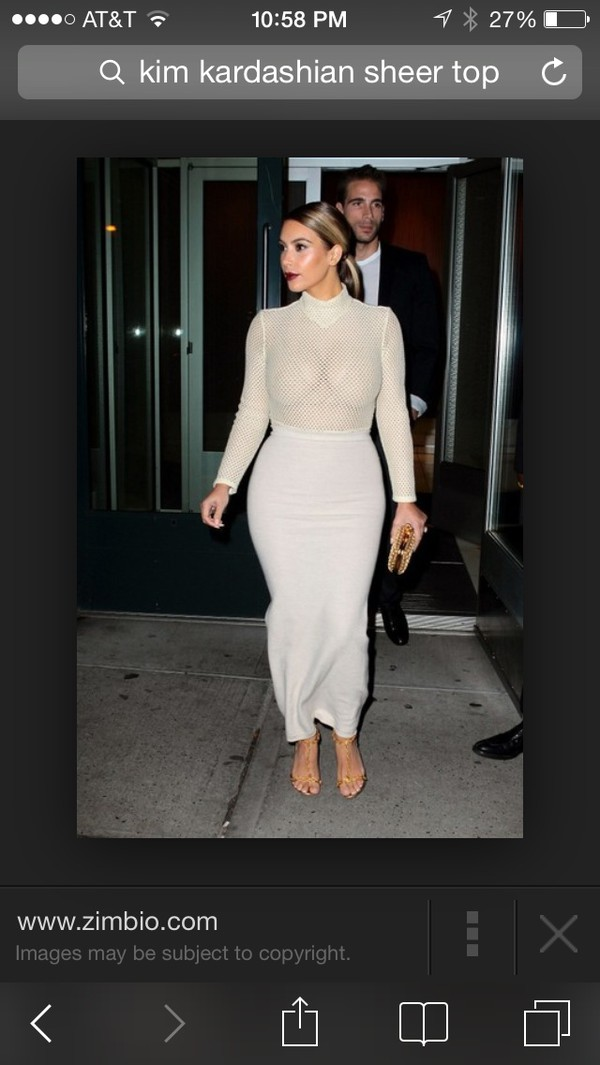 long skirt sheer top high waisted skirt kim kardashian skirt
