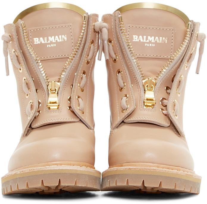 Popular Balmain Womenu2019s Black Leather Nina Ranger Boots | IWomenShoes