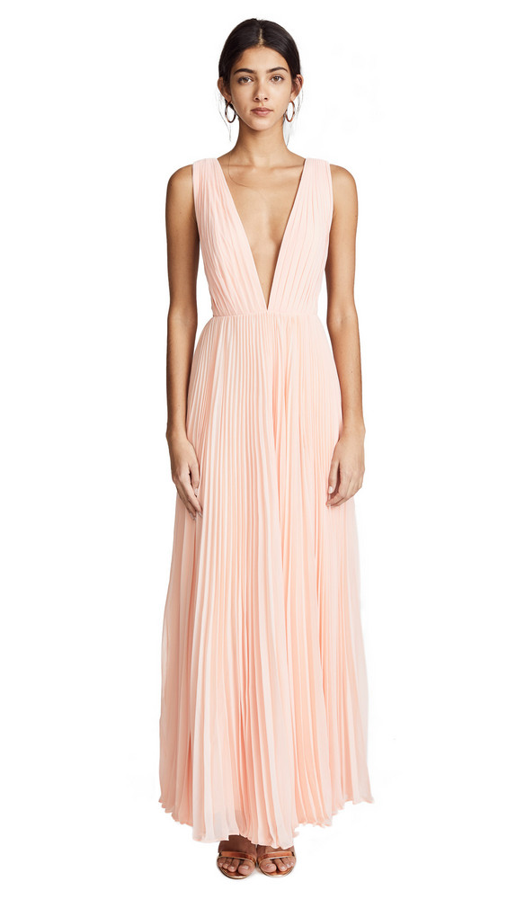 Fame and Partners The Allegra Dress in pink