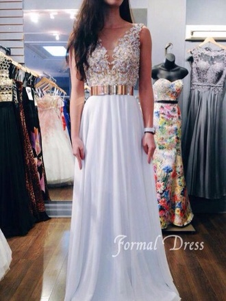 dress white dress lace dress prom dress