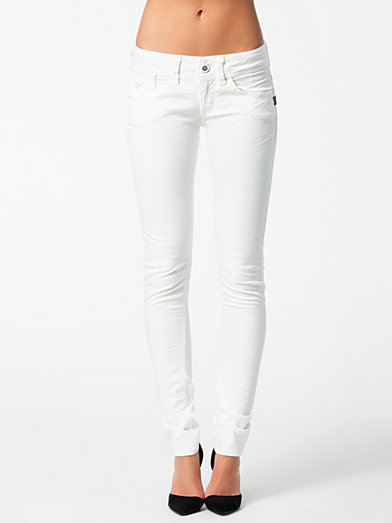 Lynn Skinny 60367 5779 - G - Star - White - Jeans - Clothing - Women - Nelly.com