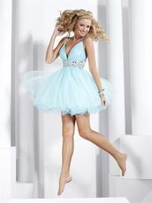 homecoming,homecoming dress,organza,sky blue dress,v neck dress,beaded,organza homecoming,short homecoming,fashion girl,girl dress,dress,beautiful dresses
