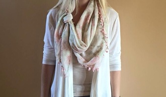 scarf pink scarf floral scarf white scarf pink white floral rose rose scarf pink rose scarf white rose scarf pink floral scarf white floral scarf tumblr scarf decorative scarf fashion pretty lovely winter outfits fall outfits winter scarf beautiful beautiful scarf tumblr beautiful fall scarves