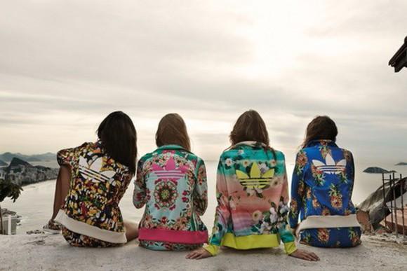 jacket adidas flowers jacket joggers sweats jogging set sportswear believe