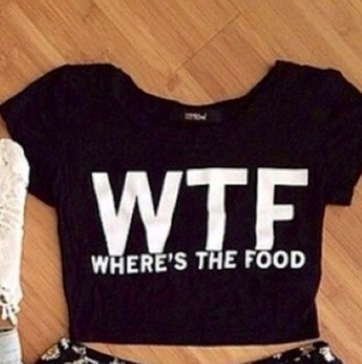 top crop tops foodporn clothes topshop rare flirty sold out black crop top