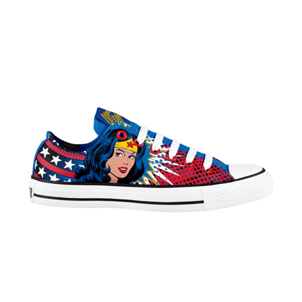All Star Lo Wonder Woman Athletic Shoe, Wonder Woman | Journeys Shoes