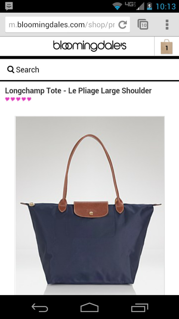 bag blue bag bloomingdales