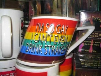 rainbow mug colorful