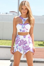 tank top,white,sabo skirt,bustier,lilac,blue,party,shirt,shorts,two-piece,crop tops,summer outfits