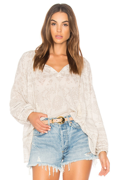 Spell & The Gypsy Collective blouse white top