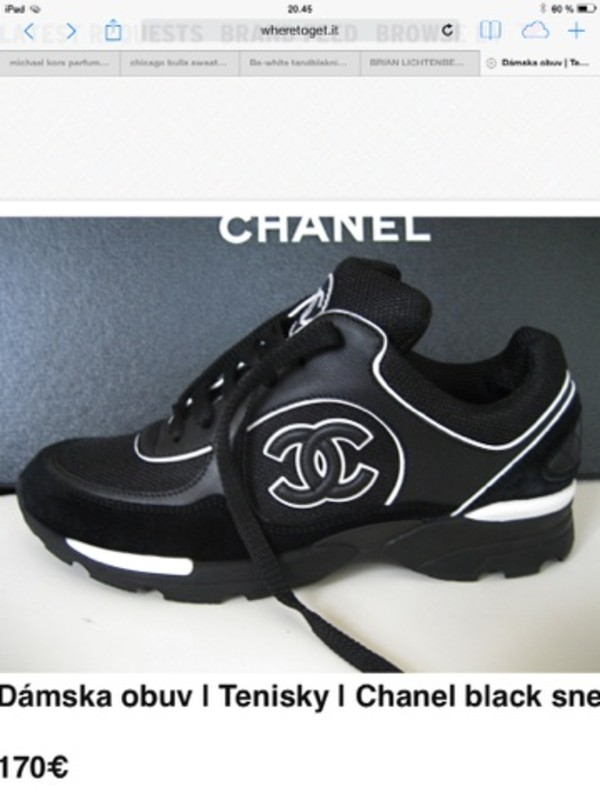christian louboutin mens shoes replica - replica luxury shop - black sneakers chanel