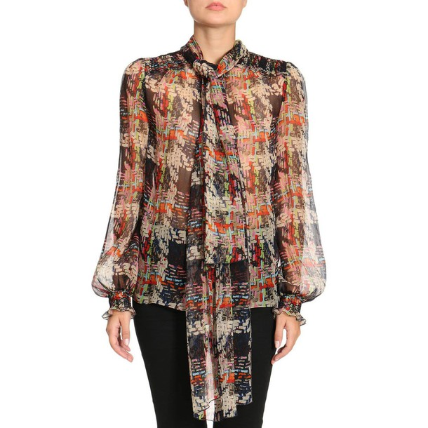 Blumarine shirt women multicolor top