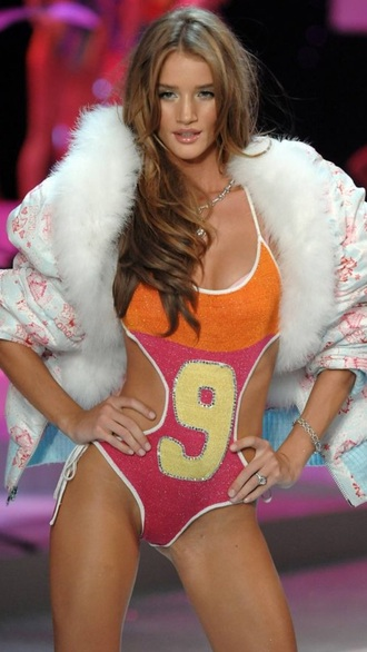 swimwear rosie huntington-whiteley victoria's secret bikini coat
