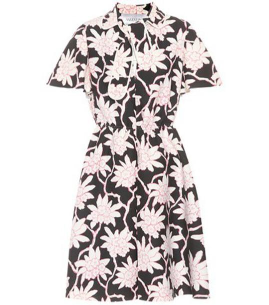 Valentino dress floral black