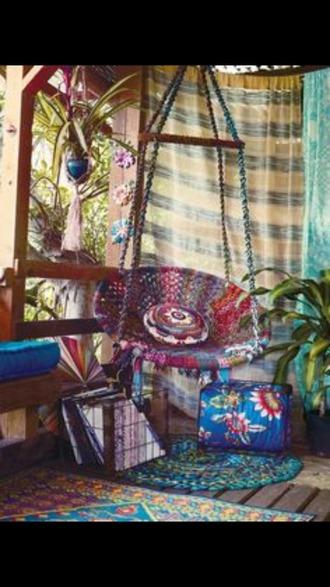 home accessory hanging chair hippie boho home decor pillow