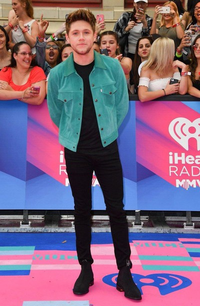 jacket niall horan niall horan jacket mmva awards mmva niall nialler awards iheartradio celebrity one direction horan menswear men's jacket men style irish