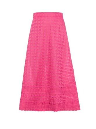 skirt midi skirt midi pink