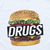 DRUGS BURGER NEW T Shirt Disobey King Streetwear Supreme Fresh Tyler Creator Tee | eBay