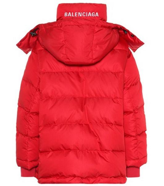 Balenciaga Puffer jacket in red