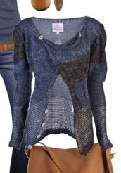 sweater,blue shirt,fashion,style,cardigan,knitted cardigan,knitted sweater,fall sweater,fall outfits,cute sweaters,comfy,clothes,classy,top,warm,belt,bag,jeans,shirt,tank top,shoes,blouse,knit black & blue buttons at collar r cardigan