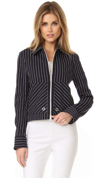 Rag & Bone Harris Jacket - Navy/Ivory