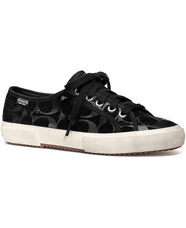 COACH KALYN SNEAKER - Finish Line Athletic Shoes - Macy's