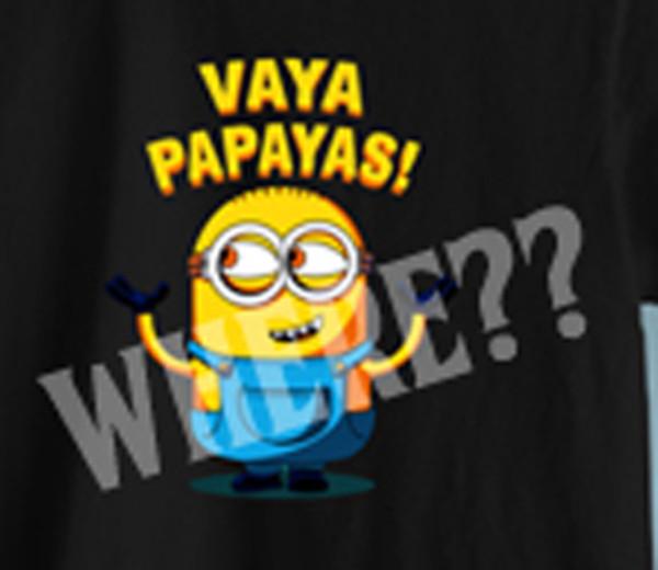 t-shirt cartoon film artwork minions funny black t-shirt movies